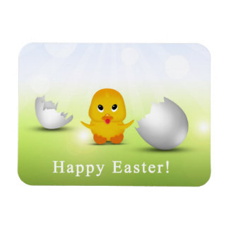 Cute Little Easter Chick - Flexible Magnet