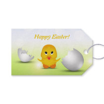 Cute Little Easter Chick - Gift Tag