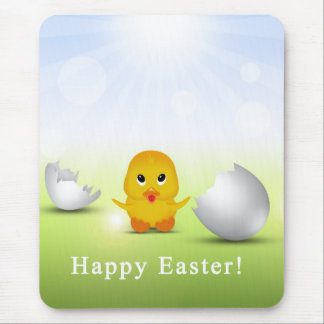 Cute Little Easter Chick - Mousepad