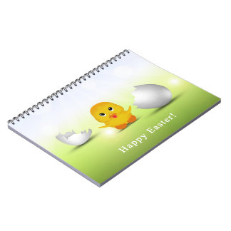 Cute Little Easter Chick - Notebook