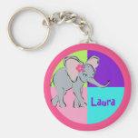 Cute Little Elephant Key Chains
