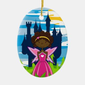 Cute Little Enchanted Princess Ornament