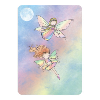 Cute Little Fairy Birthday Party Invite for Girls