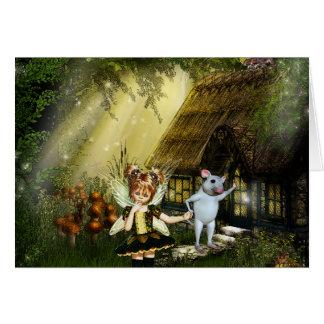 Cute Little Fairy Greeting Card