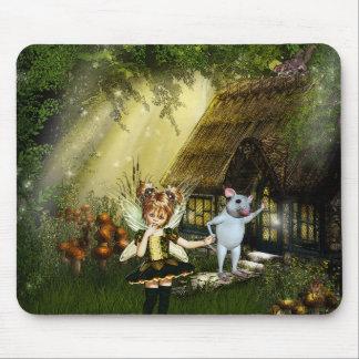 Cute Little Fairy Mouse Pad