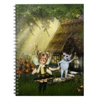 Cute Little Fairy Notebook
