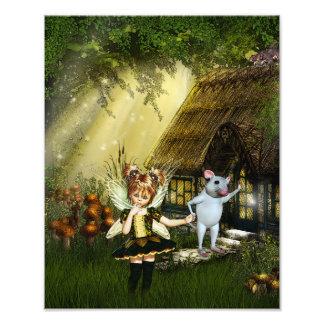 Cute Little Fairy Photo Print