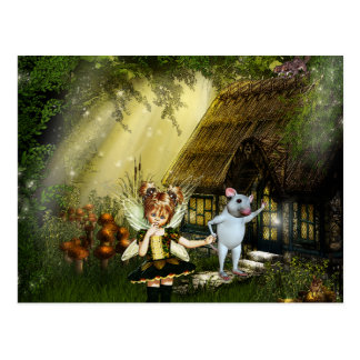 Cute Little Fairy Postcard