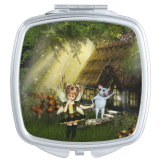Cute Little Fairy Vanity Mirror