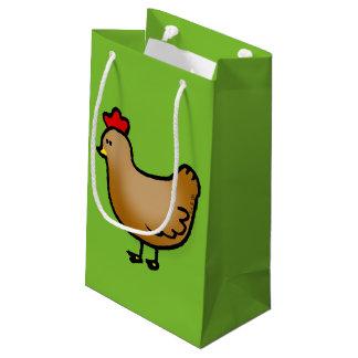 cute little farm chicken hen small gift bag