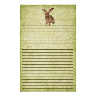 Cute Little Floppy Bunny- Stationery
