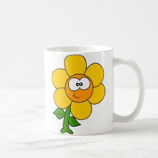 Cute little flower coffee mug