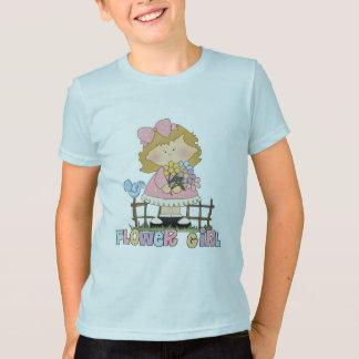 Cute Little Flower Girl T-Shirt