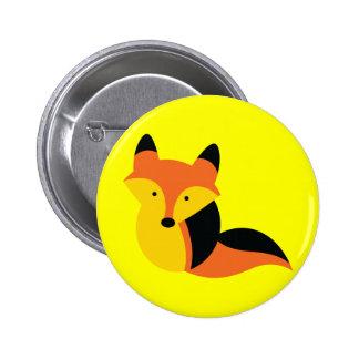 Cute little Fox Button