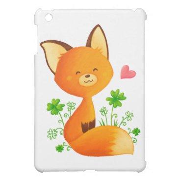Cute little fox case for the iPad mini