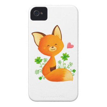 Cute little fox Case-Mate iPhone 4 case