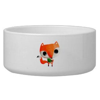 Cute Little Fox Dog Bowls