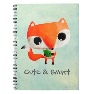 Cute Little Fox Spiral Notebook
