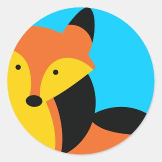 Cute little Fox Stickers