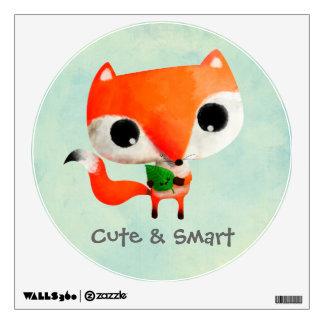 Cute Little Fox Wall Graphic