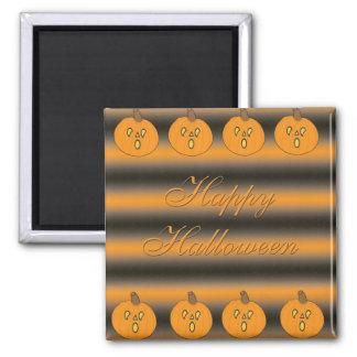 Cute Little Frightened Pumpkins Magnet