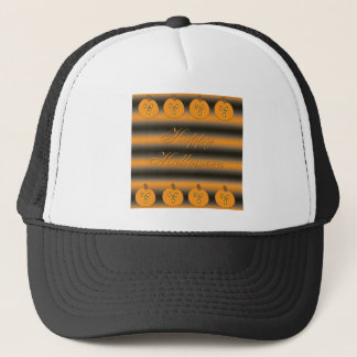 Cute Little Frightened Pumpkins Trucker Hat