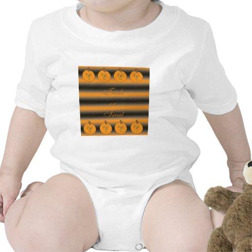 Cute Little Frightened Pumpkins T Shirts