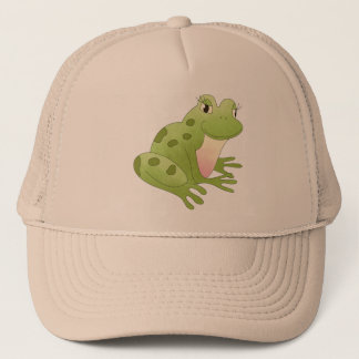 Cute Little Frog Trucker Hat