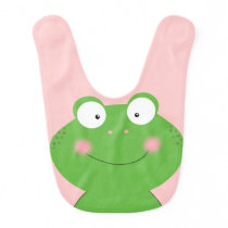 Cute Little Froggy Baby Bib