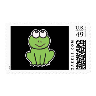 cute little froggy frog postage