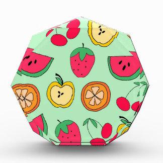 Cute Little Fruit Salad Acrylic Award