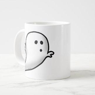 Cute little ghost large coffee mug