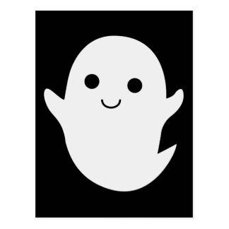 Cute little ghost postcard