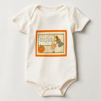 Cute Little Girl Baby Jack O Lantern Pumpkin Creeper