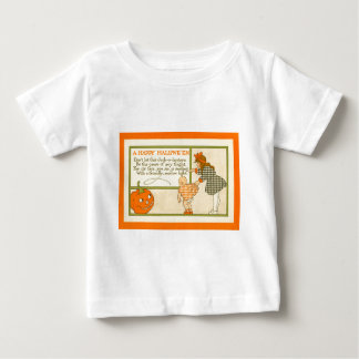 Cute Little Girl Baby Jack O Lantern Pumpkin T-shirt