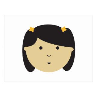 Cute Little Girl Postcard