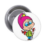 cute little gnome buttons