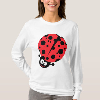 cute little goofy ladybug with lots of spots T-Shirt