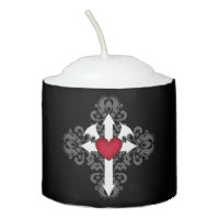 Cute little Gothic design Votive Candle