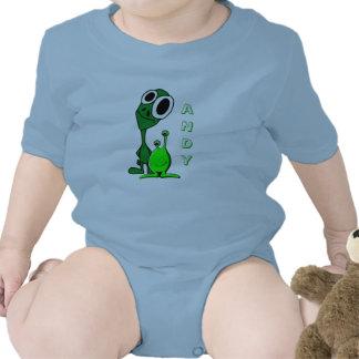 "Cute ""Little Green Men"" Personalized Creeper"