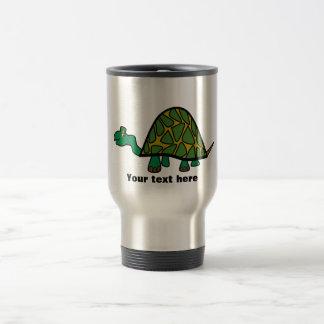 Cute little green turtle coffee mugs