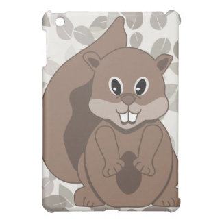 Cute Little Grey Squirrel Cartoon Animal Cover For The iPad Mini