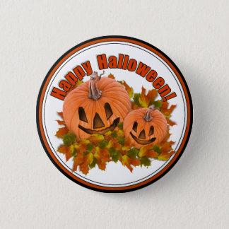 Cute Little Halloween Jack-o-Lanterns Button