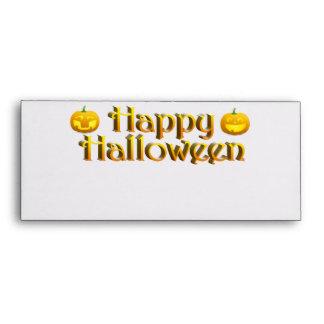 Cute Little Halloween Jack-o-Lanterns Envelopes