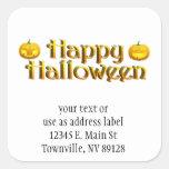 Cute Little Halloween Jack-o-Lanterns Stickers