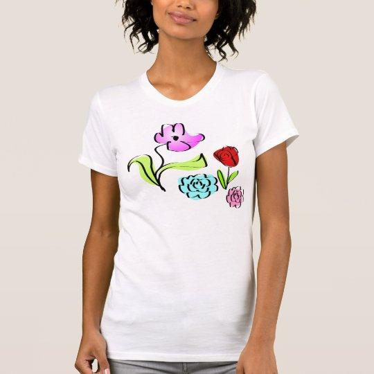 Cute Little Happy Flowers T-Shirt