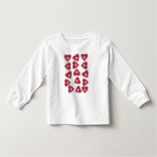 cute little heart tshirt for girls