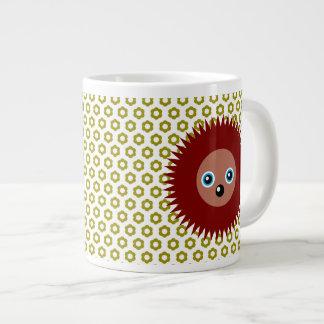 Cute little hedgehog giant coffee mug