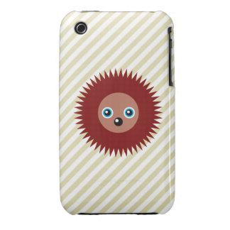 Cute little hedgehog iPhone 3 case