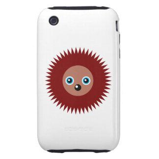 Cute little hedgehog iPhone 3 tough cover